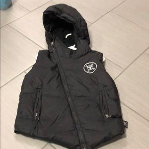 Other - Nu-Nu little boys black puffer vest size 3/4